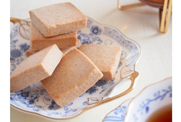 スコットランドの伝統的なお菓子「ショートブレッド」のレシピを紹介。