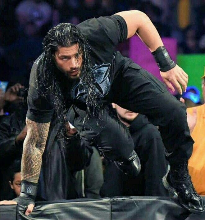 Roman Reigns now this awesome guy Roman reigns is my favorite WWE hero  and he is the best and the  greatest  WWE wrestlers believe that just love this guy