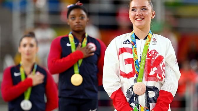 Amy Tinkler triumphs as Team GB's youngest athlete takes gymnastics Floor bronze medal