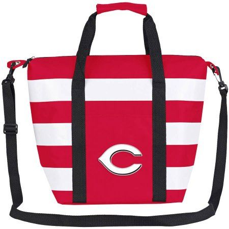 MLB Cincinnati Reds Freeze Insulated Cooler Tote, Red