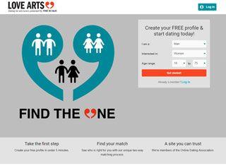 Dating website demographics