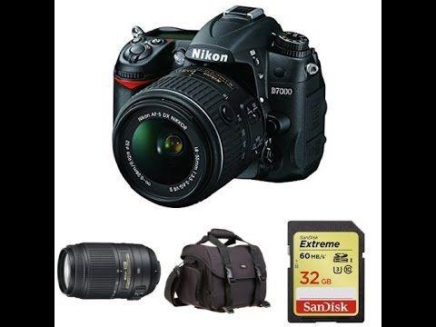 Holiday bundle deals. Nikon D7000 Digital SLR wit 18 55mm and 55 300mm Lens plus Free DSLR Bag...promo ends on December 14