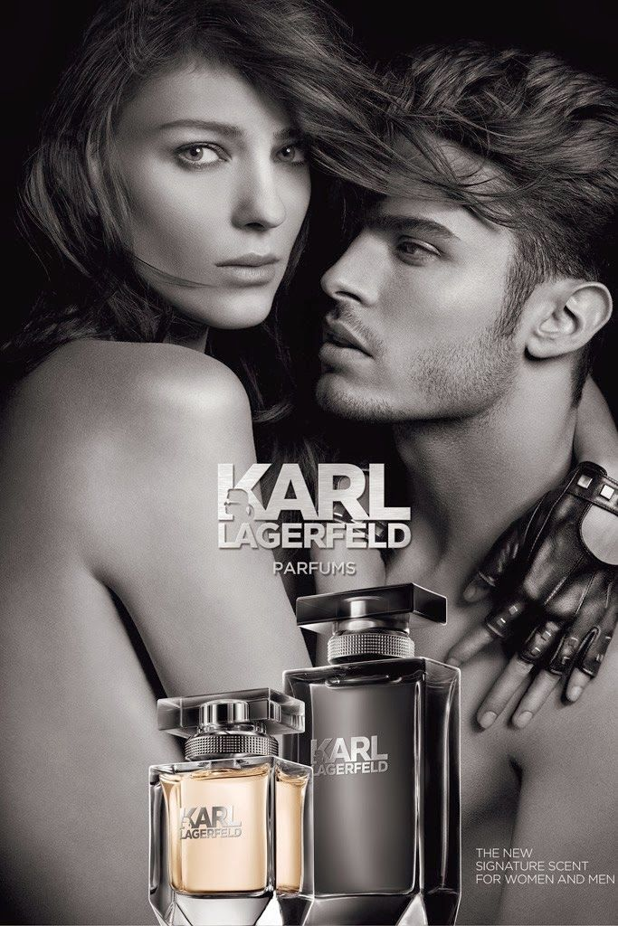 The Essentialist - Fashion Advertising Updated Daily: Karl Lagerfeld Parfums Ad Campaign Spring/Summer 2014