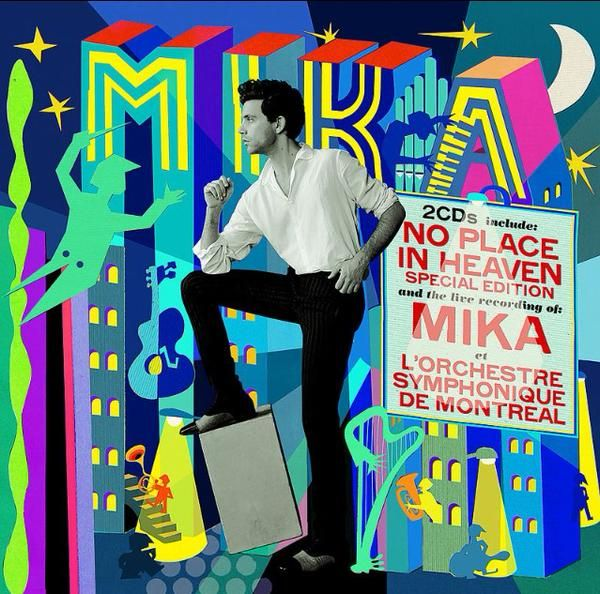 #MIKA #NoPlaceInHeaven  New design for NPIH new edition ! Omg just love it <3