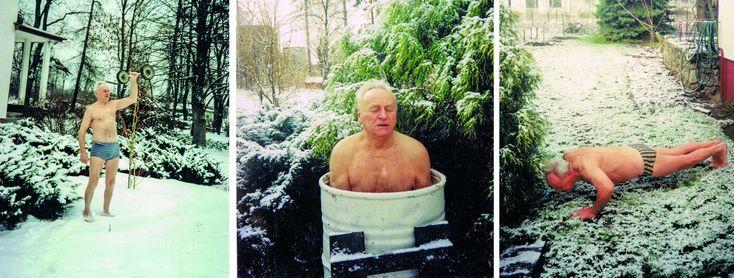 Ćwiczenia zimowe (fot. archiwum Antoniego Huczyńskiego)