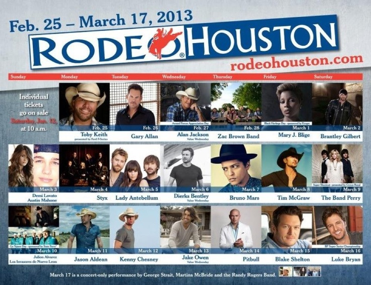 2013 Houston Livestock Show & Rodeo ~ We are there!!!!
