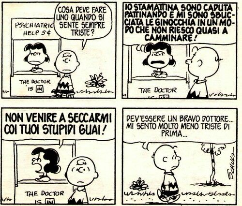 Peanuts - Charlie Brown - Lucy
