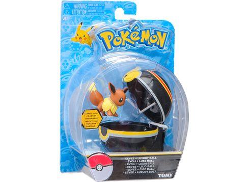 POKEMON Poké Ball T18870 Eevee + Luxury BALL