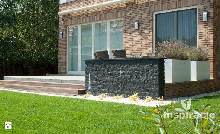 Ogród styl Nowoczesny - zdjęcie od Studio projektowe INSPIRACJE - Ogród - Styl Nowoczesny - Studio projektowe INSPIRACJE