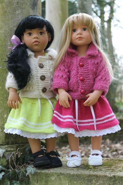 gilets manches 3/4 pour poupées Gotz. - http://paolareinacrea.canalblog.com/archives/2013/04/06/26825088.html