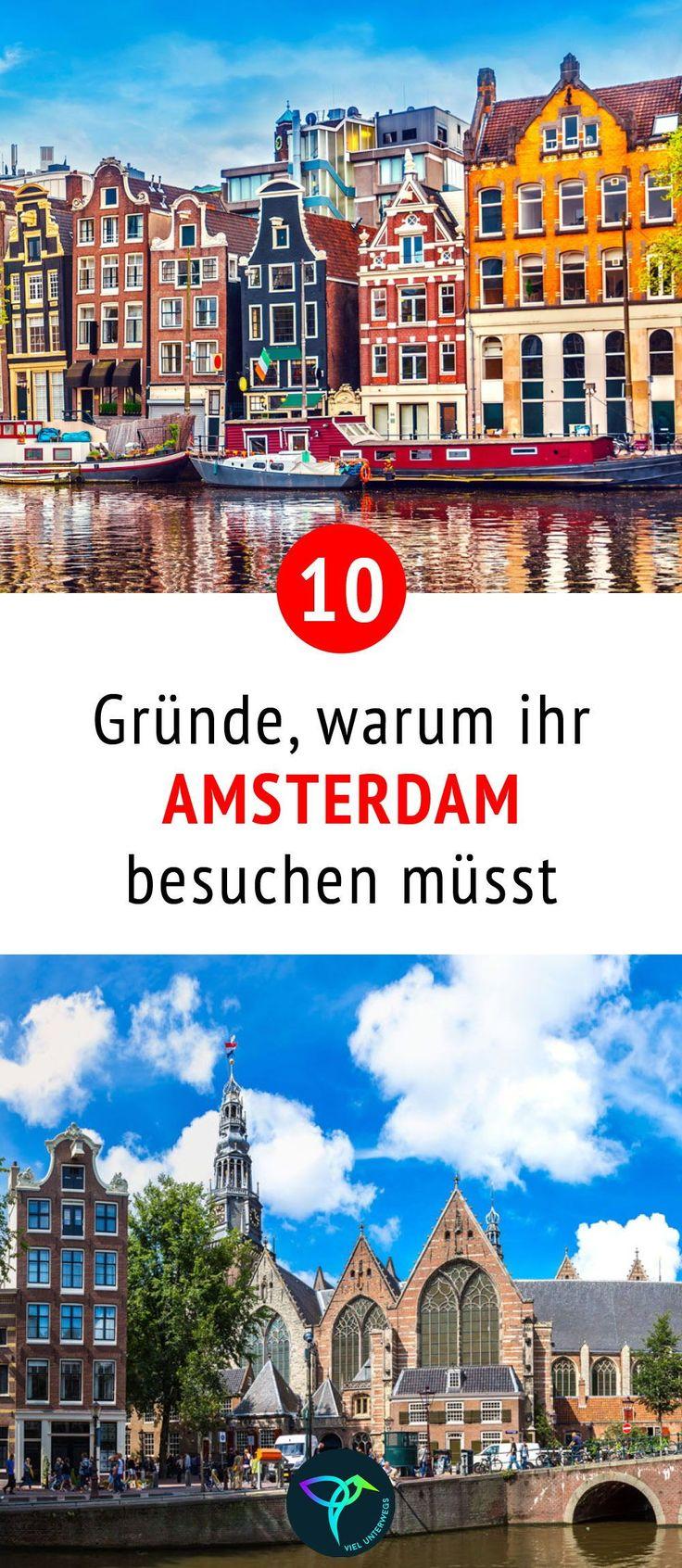 Die besten Amsterdam Tipps mit Sehenswu00fcrdigke…