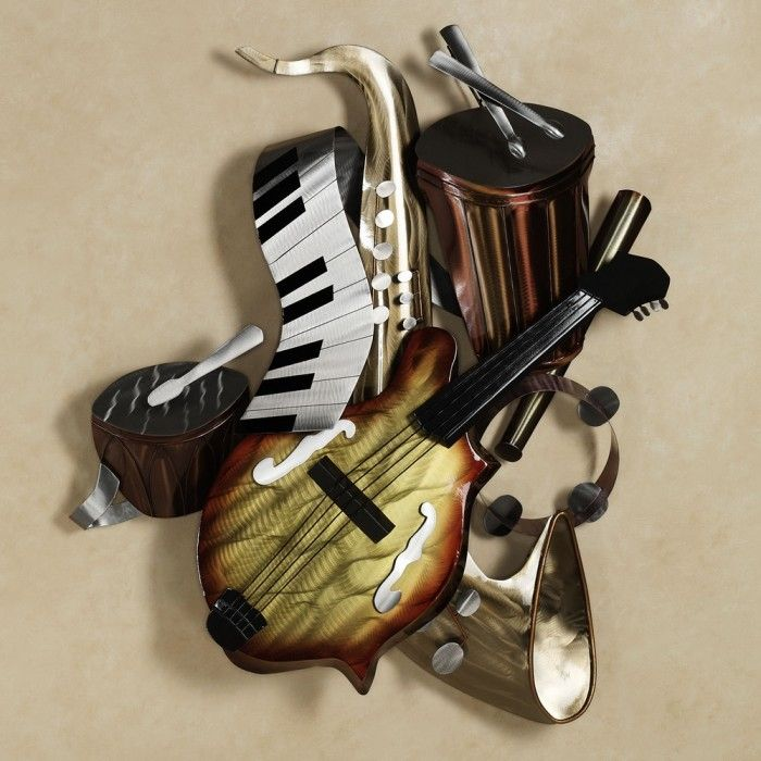 40 best art images on pinterest frame guitar art and on metal wall art id=73958