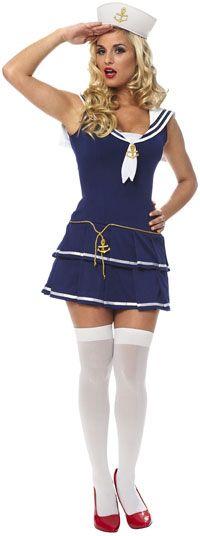 Sexy Sailor Gal Costume - Sailor Costumes