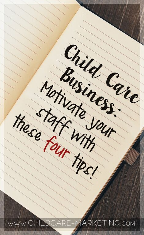 How motivated are your child care teachers? Do they love to come to work each day? Do they feel supported and have the tools they need to do their job? The answer might surprise you.  Did you know that early education teachers experience the LEAST amount of personal freedom compared to almost ANY other job in our country? Here are four tips to combat that problem AND motivate your child care staff.