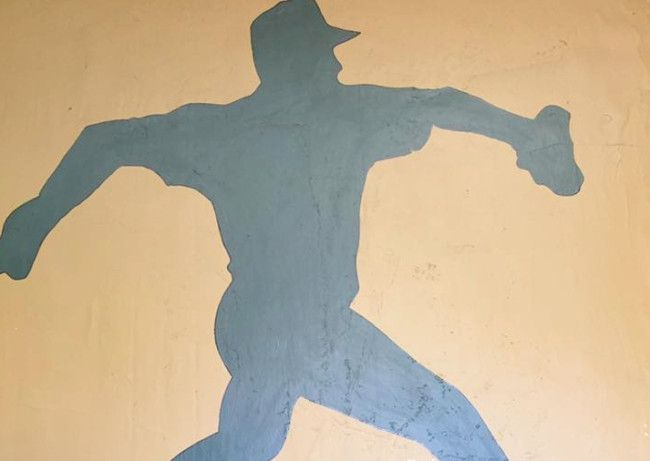 RIGHTY OR LEFTY: This Painting Of A Baseball Player Is Driving People Crazy A La ?The Dress?