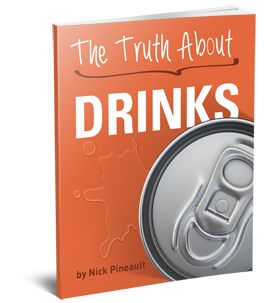 """Believe it or not, if you drink calorie-free alternatives like Vitamin Water, diet sodas or ANY type of diet juices you're basically STOPPING your fat loss.  Inside this guide, you'll learn exactly what you should drink to support your weight loss, but most importantly """"how"""" to substitute your favorite unhealthy drinks for equally delicious tasting fat-burning alternatives."""