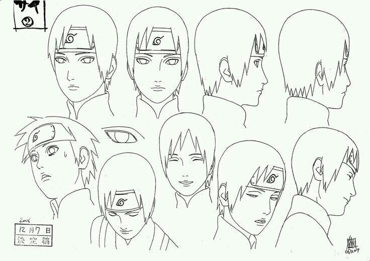 Naruto Shippuden Diseno De Personajes Anime Amino Naruto Drawings Naruto Sketch Naruto Sketch Drawing