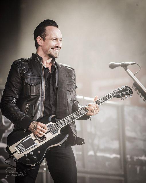 Michael Poulsen z zespołu Volbeat. Ciacho ;)