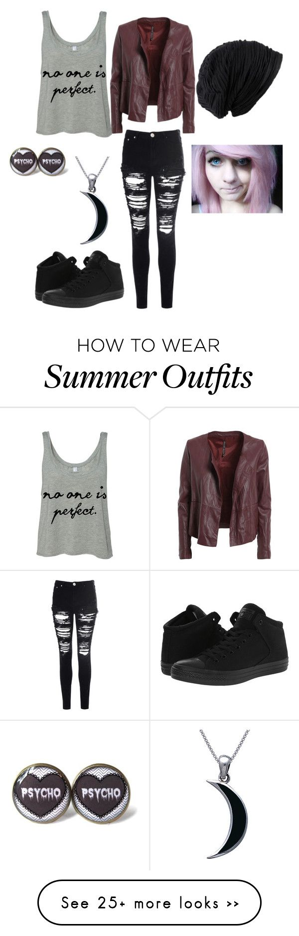 """No ones perfect..."" by littleblondegreek123 on Polyvore featuring Glamorous, Converse, Carolina Glamour Collection and Manila Grace"
