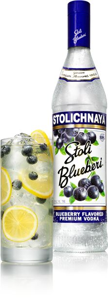 Stoli® Blueberi™ is so yummy with lemonade, and some muddled berries with a little sugar and club soda! A cool, crisp summer drink!