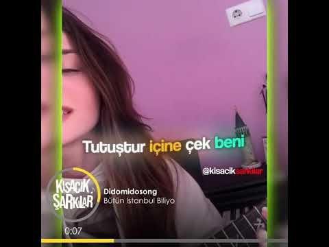 Kisacik Sarkilar Didomidosong Butun Istanbul Biliyo Youtube Sarkilar Blues Muzik Ders Programlari