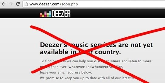 """Deezer: Coming to America In January, 2014... - Digital Music News """"Look out America! The almighty french start-up is coming after you!"""""""