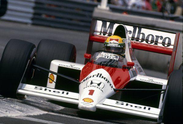 Senna ..king of Monaco