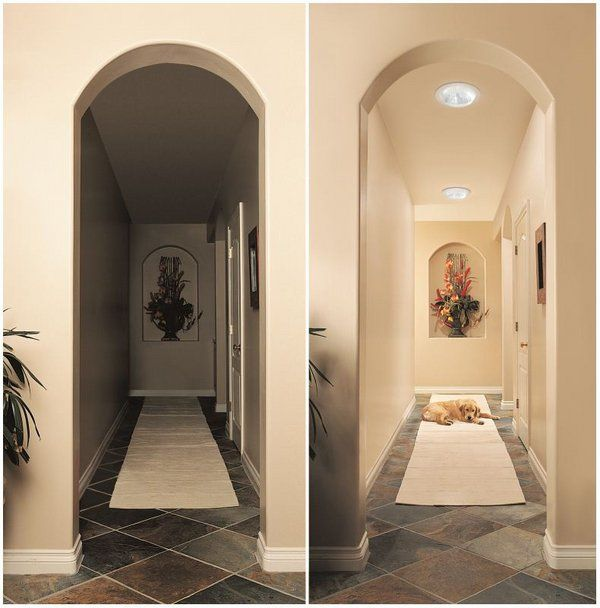 tubular skylights before after installation home lighting ideas corridor lighting - Home Lighting Installation
