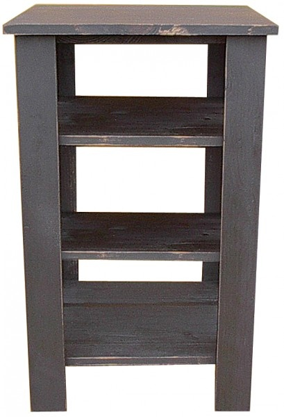 Tall End Table With Shelves | Shelves, Pine Furniture And Furniture Decor