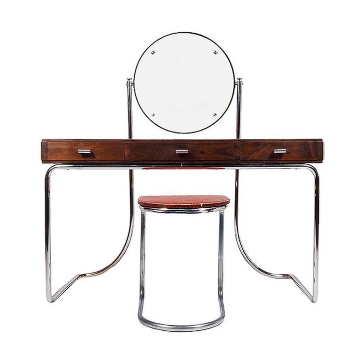 Mart Stam Vanity and Stool
