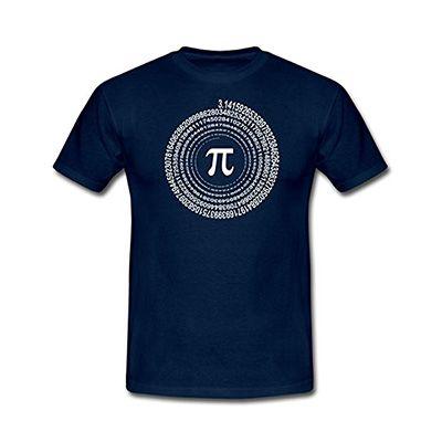 Pi Spirale Männer T-Shirt 16,89€ bei Amazon.de