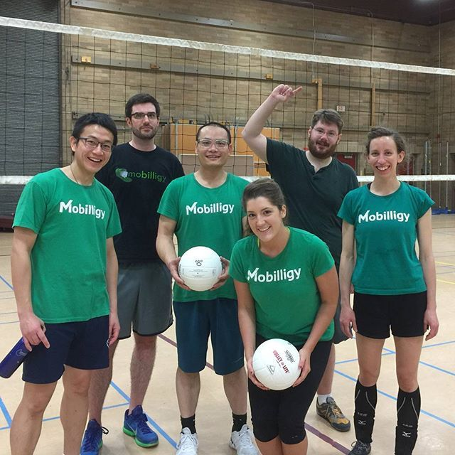 """#Team Prism won the #consolation bracket in the #Kirkland Adult #COED """"C"""" #Volleyball League! According to the handbook, we've won bragging rights! #beginners #squadgoals #winner"""