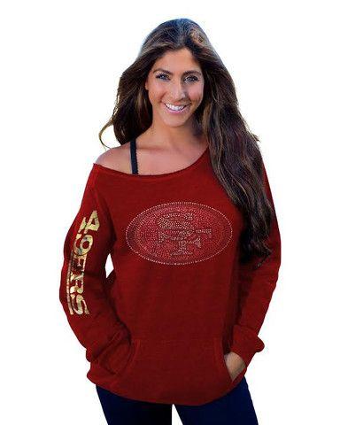 San Francisco 49ers Women's Official NFL Team Fleece