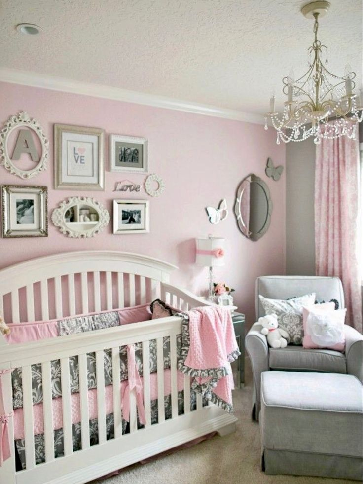 Awesome 32 Baby Girl Nursery Designs Popular On Pinterest
