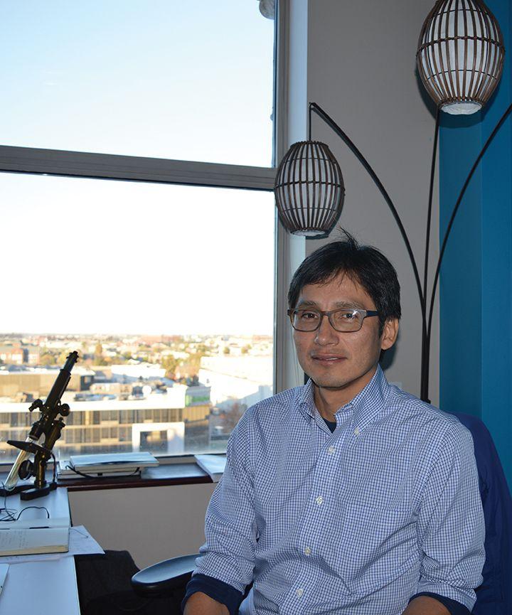 Helbert Dussan Aportando conocimientos científicos a la Industria