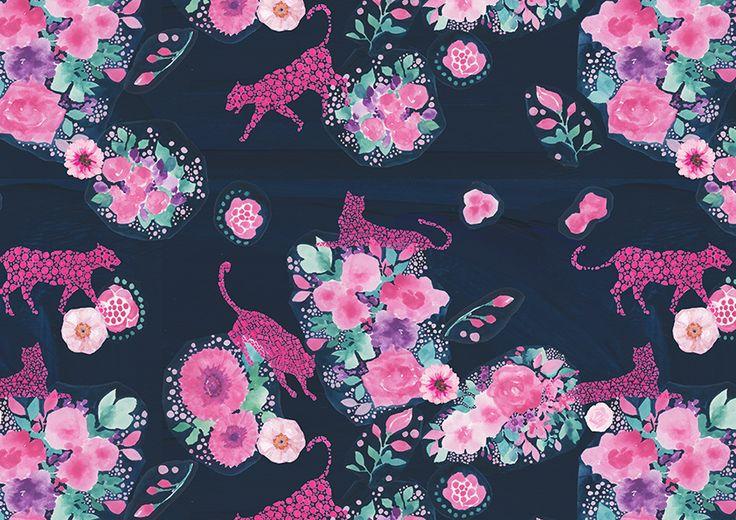 #pattern #パターン#模様 #お洒落 #可愛い #packagedesign #パッケージ #デザイン #お花 #flower #柄 #animal #pink