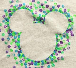 Easy DIY Disney Shirt for little kids.  #Mickey #DisneyWorld