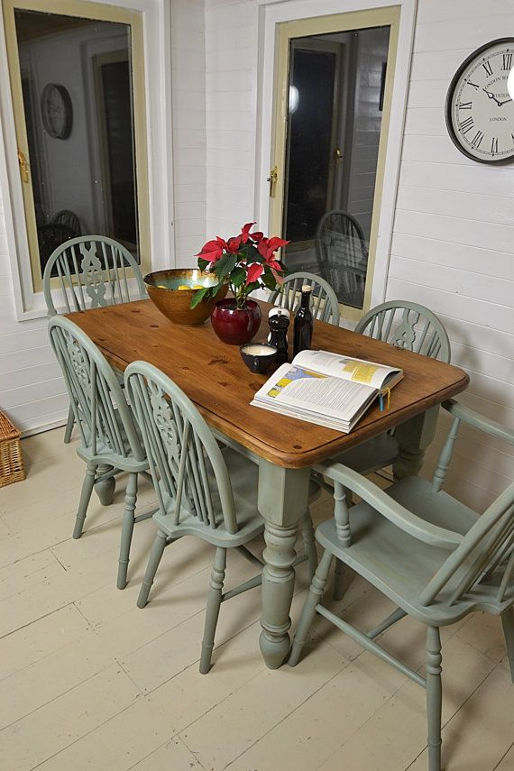 Best 20 shabby chic dining ideas on pinterest shabby for Duck egg dining room ideas