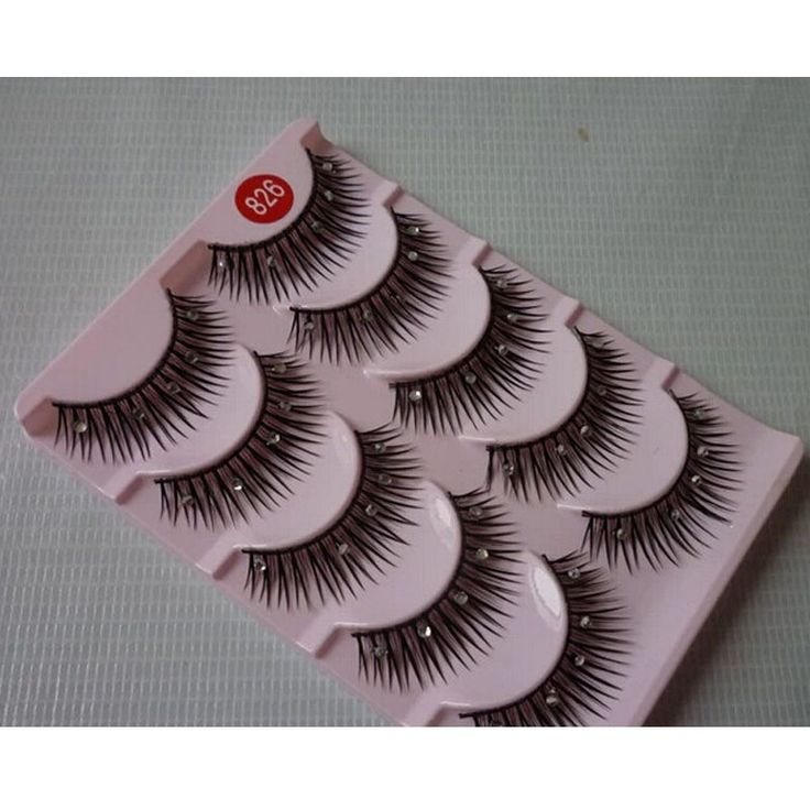 DILIOU hand made природный макияж глаз с буровые накладные ресницы розовый крест-накрест искусство поддельные ресницы 5 пар/уп. 826