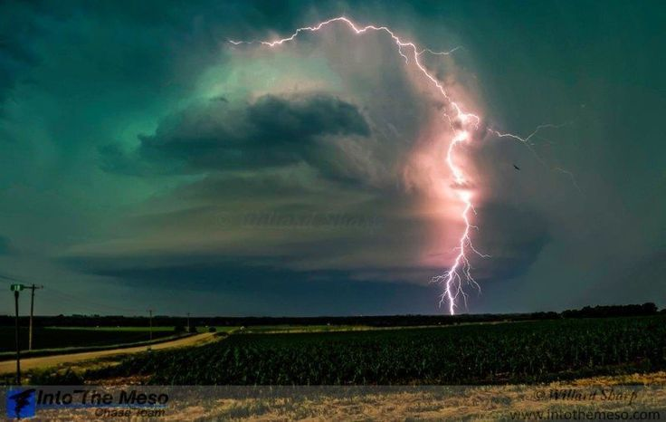 """Top 10 Weather Photographs: April 11th, 2016 """"Lightning Show in Nebraska"""" – Ka Boom! This beautiful lightning filled storm near West Point, NE on June 14, 2013 started me on the path to taking better weather and storm chasing photos."""