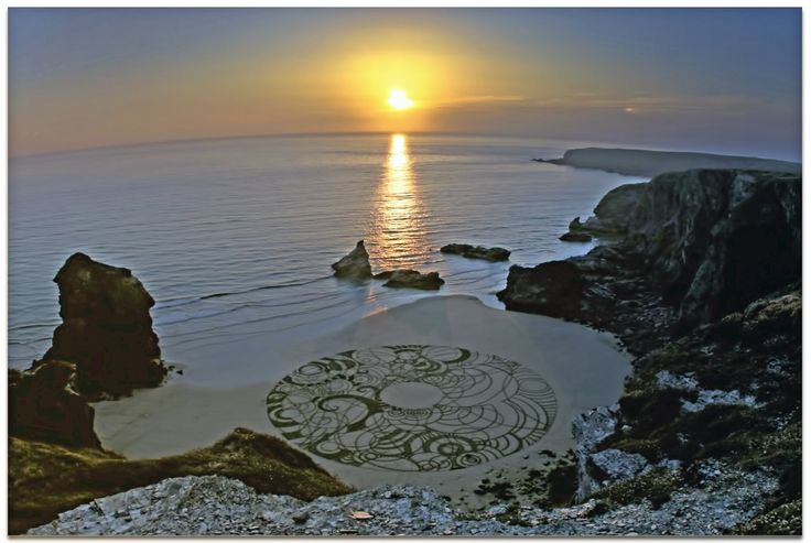 """""""Mid summers day sunset"""" - Tony Plant Cornwall. 2013"""