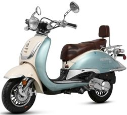 150cc Heritage 4 Stroke Moped Scooter