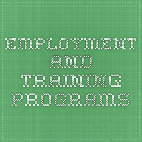 Employment and Training Programs from @CTDOL