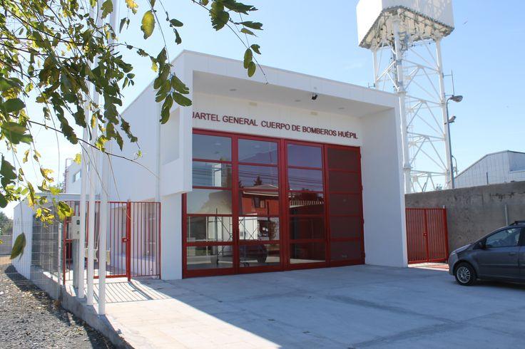 Fire Station Cuartel General del Cuerpo de Bomberos de Huepil, Chile