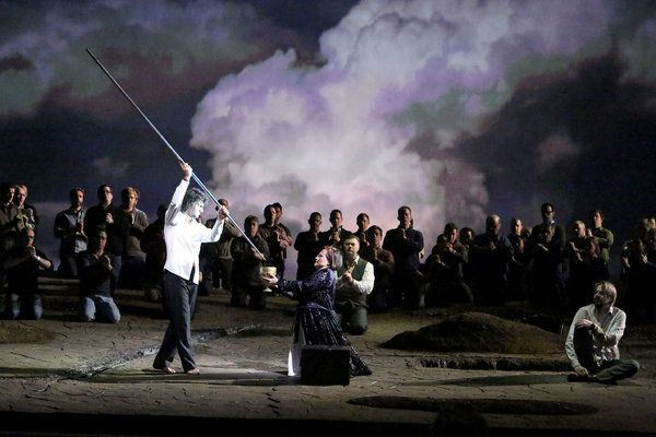 """A Look at the New 'Parsifal' at the Metropolitan Opera  By CORINNA da FONSECA-WOLLHEIM (NYT). Reputed to be undirectable, Wagner's """"Parsifal"""" is returning to the Metropolitan Opera in a new production led by François Girard."""