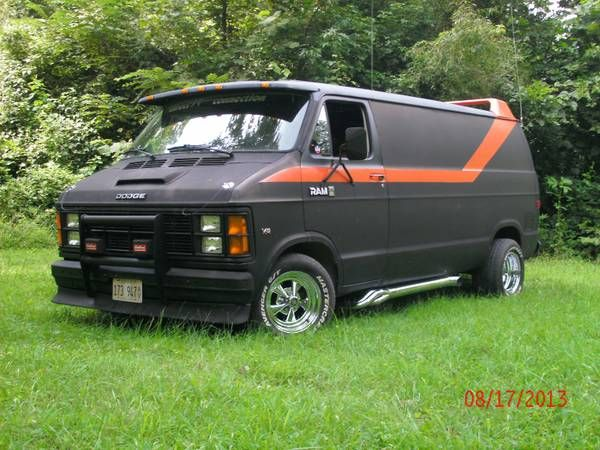 Find this 1984 Dodge Ram Van for sale in St. Louis, MO for $3,500 asking via craigslist. Tip from Scot.