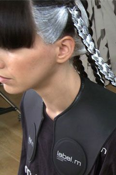 Try This New Home Hair Dye Technique - The Frisky - Maybe not with silver but I am definitely going to attempt this on parts of my hair!