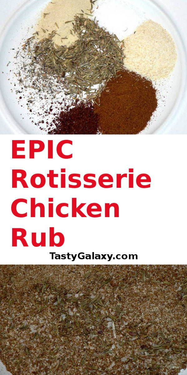 The easiest 3 minute Keto Rotisserie Chicken Rub recipe! Click for the best, step by step, chicken rub recipe to make th…