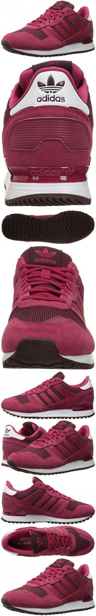Adidas Originals Women's ZX 700 W Fashion Sneaker, Unity Pink F16/Unity Pink F16/Light Maroon, 7.5 M US