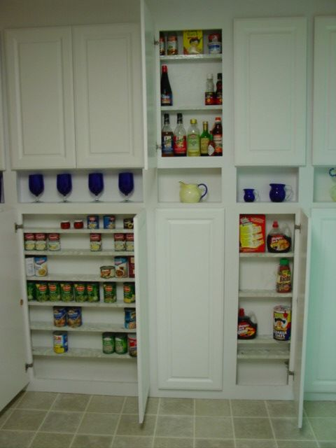 Took a wall in the kitchen down to the studs and framed in cabinets that were on…